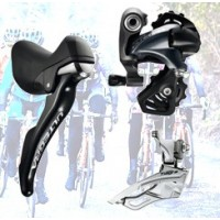 Road Shifters, Front and Rear Derailleur